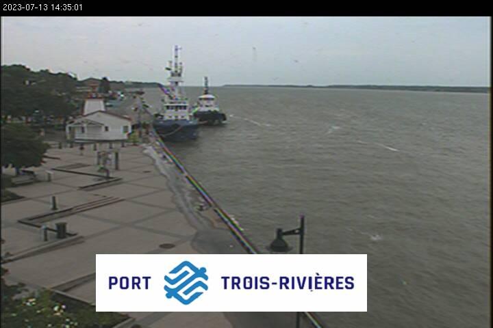 Trois-Rivieres webcam - Port of Trois-Rivieres webcam, Quebec, Quebec